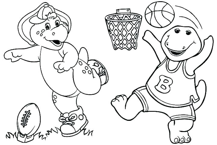 720x480 Barney Printable Coloring Pages Barney Coloring Pages Printable