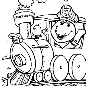 300x300 Barney And Friends And Sunflowers Coloring Pages Best Place To Color