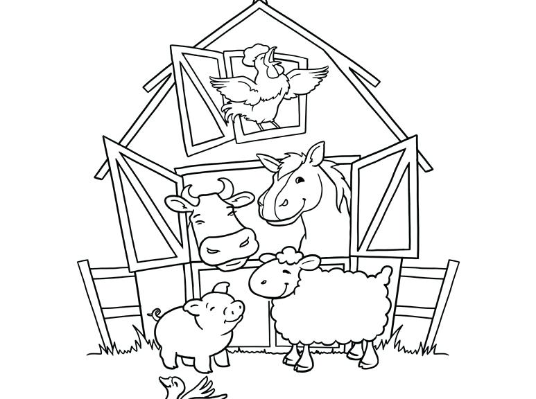 773x576 Farm Animals Coloring Pages Farm Animal Coloring Pages Printable