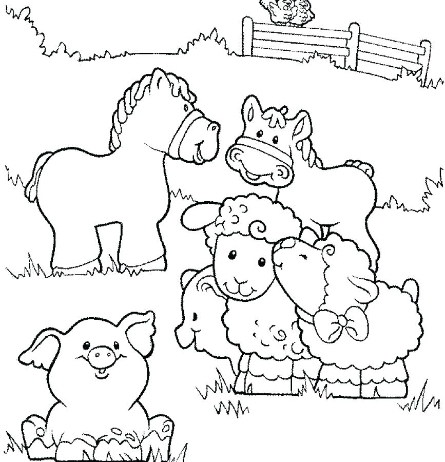 867x900 Free Printable Animal Coloring Pages Printable Farm Coloring Pages