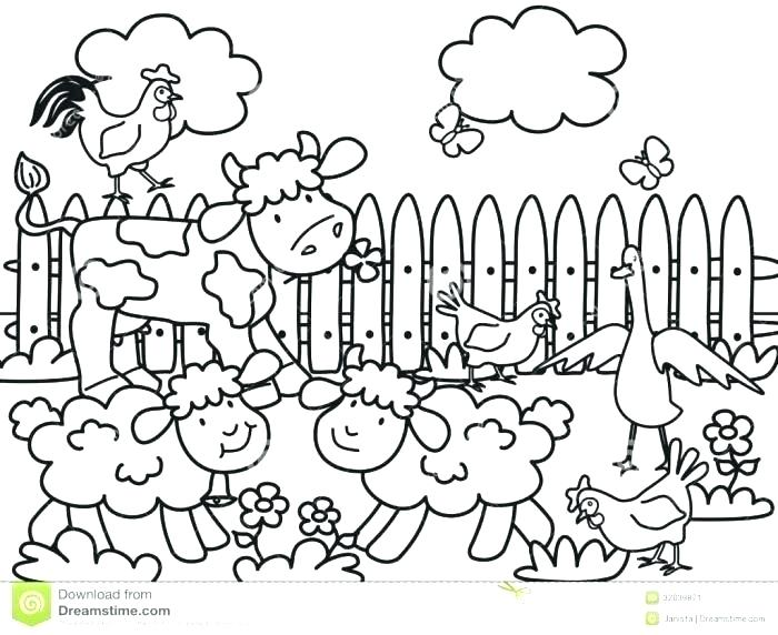 700x572 Free Printable Coloring Pages Farm Animals Printable Farm Coloring