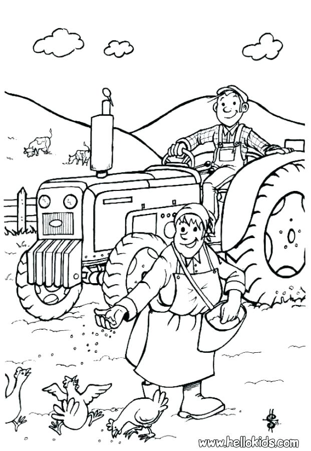 621x900 Farm Coloring Pages Farm Coloring Pages Also Barnyard Coloring