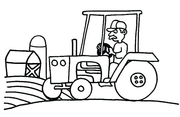 600x390 Barn Coloring Pages Barnyard Coloring Pages Top Rated Barn