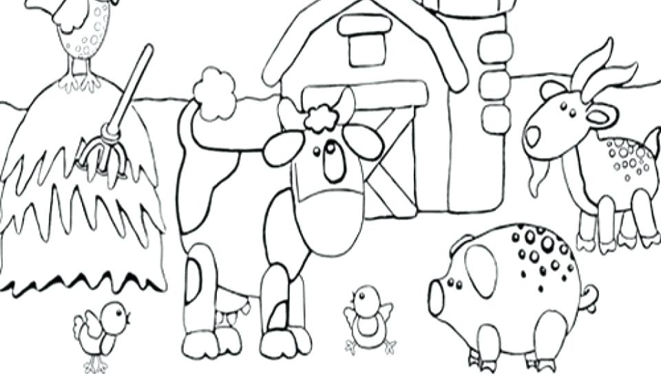 960x544 Barnyard Animals Coloring Pages Barnyard Animals Coloring Pages