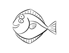 236x182 Barracuda Coloring Page Colordad Barracudas