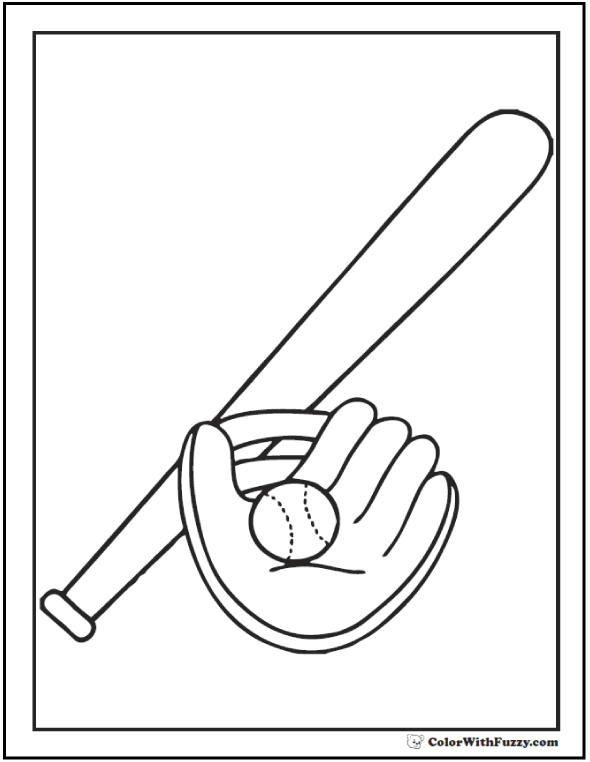 590x762 Baseball Coloring Pages Customize And Print Pdf