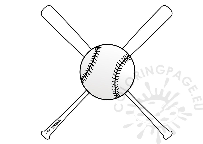 1142x807 Baseball Bats And Ball Coloring Sheets Coloring Page