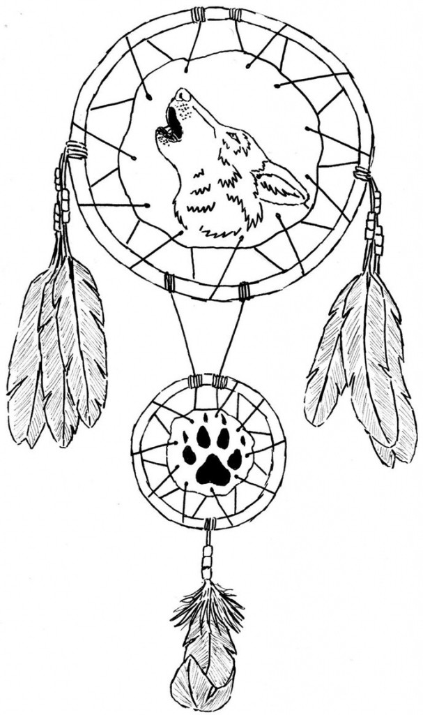 607x1024 Dream Catcher Coloring Pages Best Of Sunflower Dream Catcher Adult