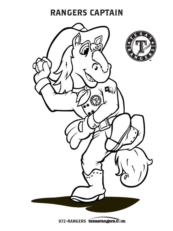 600x800 Baseball Coloring Pages Texas Rangers Baseball Coloring Pages