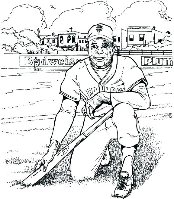 576x661 Coloring Pages Baseball Coloring Pages Baseball Baseball Coloring
