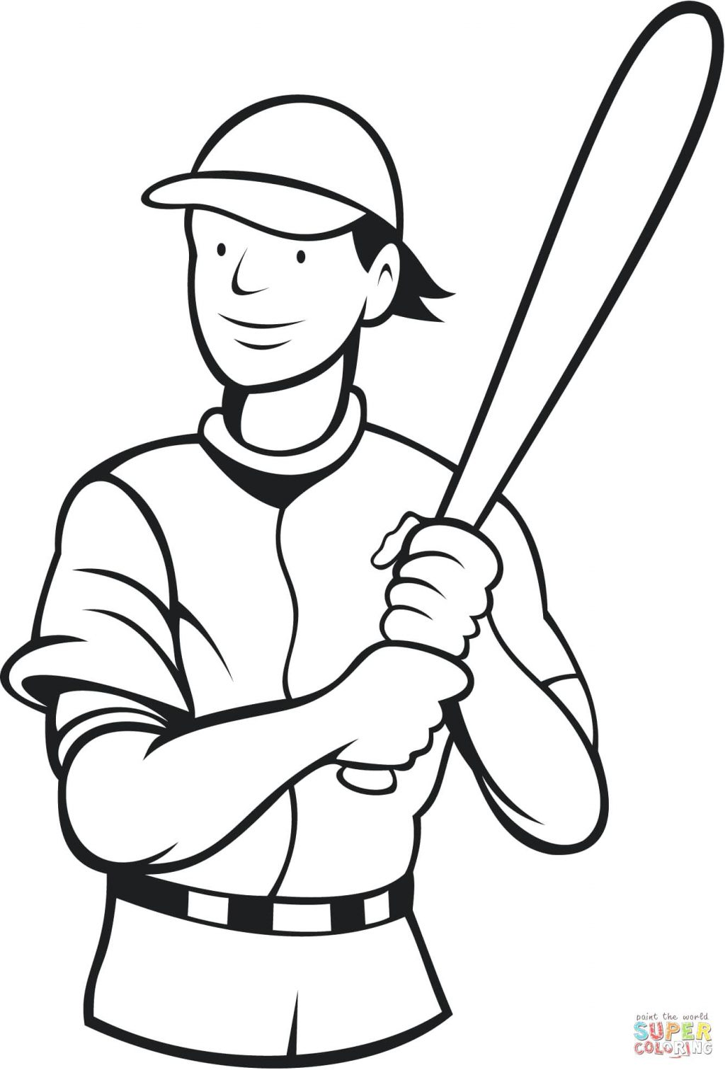 1024x1512 Coloring Pages Baseball Coloring Pages Pitcher Playing Page
