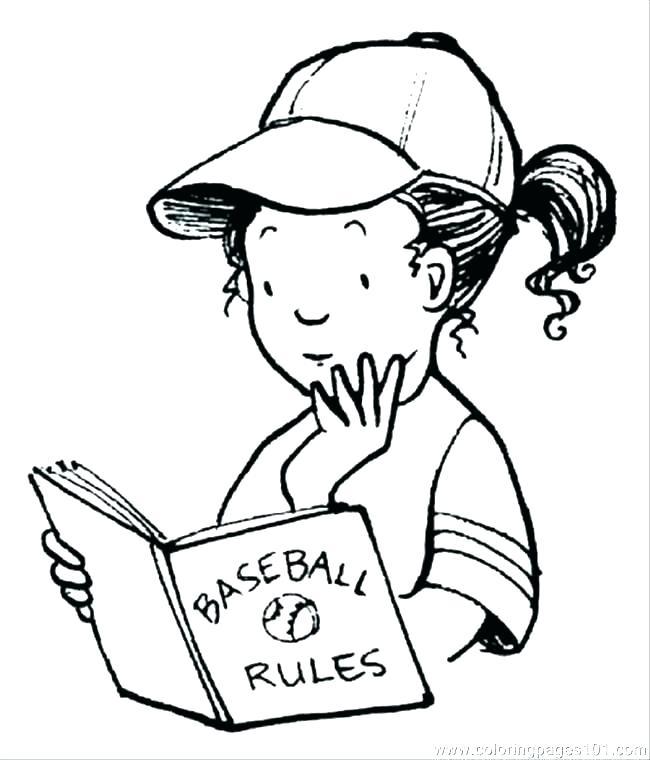 650x760 Baseball Glove Coloring Page Free Printable Baseball Coloring