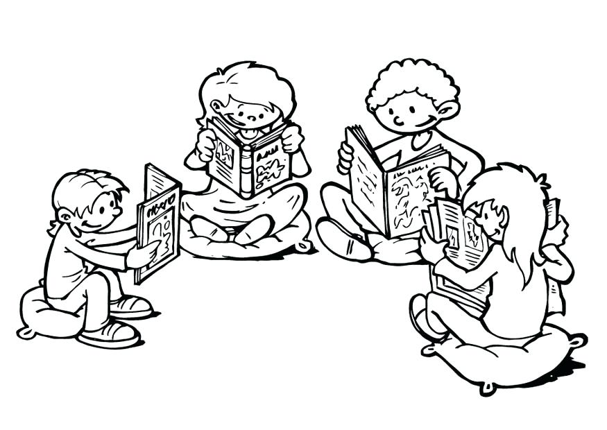 875x620 Coloring Pages Kids Coloring Coloring Page Reading Corner Lsu