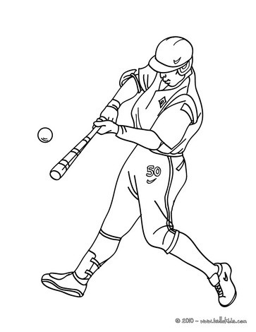 363x470 Baseball Coloring Pages
