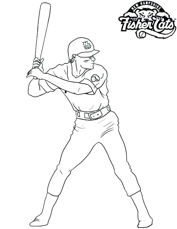 Baseball Coloring Pages Mlb At Getdrawings Com Free For Personal