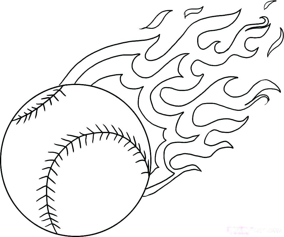 945x789 Baseball Coloring Pages Printable Baseball Player Coloring Pages