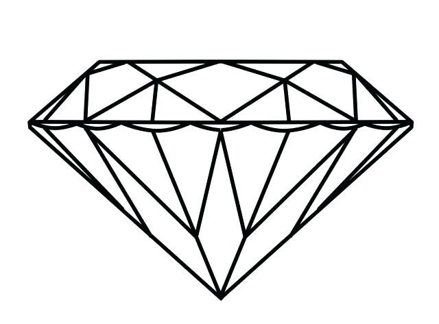 640x473 Diamond Coloring Page Diamond Coloring Page Pages Of The Minecraft