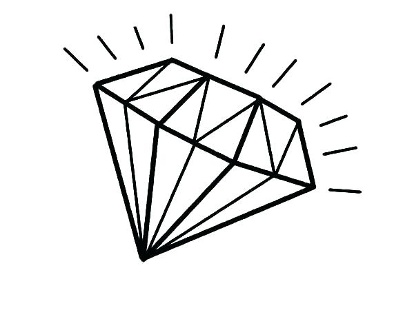 600x450 Diamond Coloring Pages Diamond Coloring Page Diamond Coloring Page