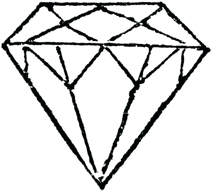 736x660 Diamond Coloring Pages Diamond Coloring Pages Diamond Coloring