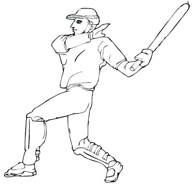 650x641 Baseball Field Coloring Pages Devon Creamteas
