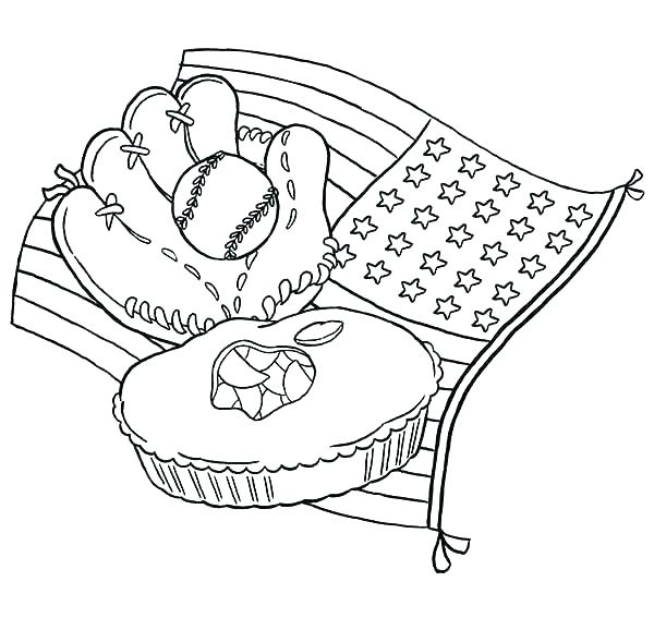 600x567 Baseball Field Coloring Pages