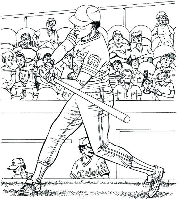 576x641 Baseball Field Coloring Page Baseball Field Coloring Pages