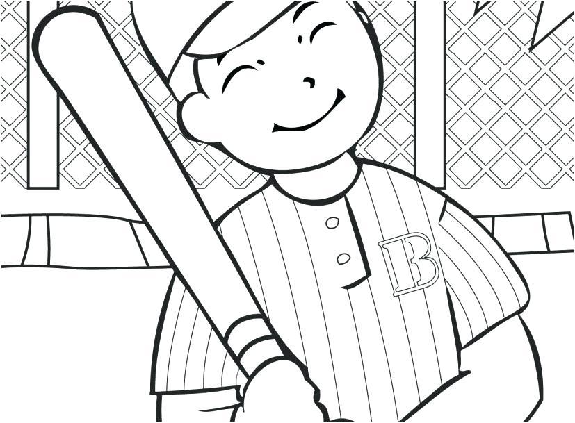 827x609 Baseball Bat Coloring Page Also Baseball Bat Coloring Page