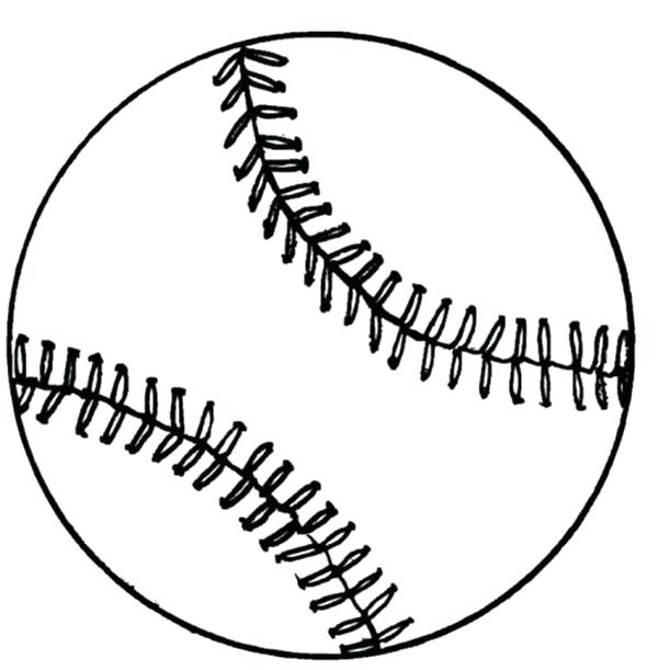 600x611 Coloring Pages Of Baseball Coloring Pages Baseball Field