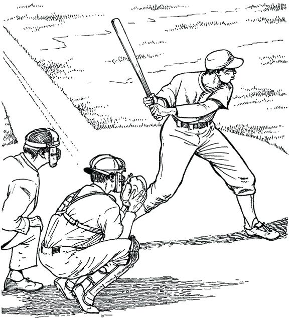 576x634 Derek Jeter Coloring Pages Baseball Field Coloring Page Top