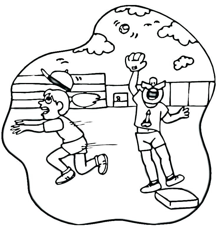 750x768 Field Day Coloring Pages Field Day Coloring Sheet Field Day