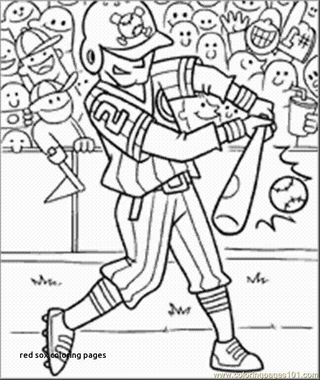 650x773 Red Sox Coloring Pages