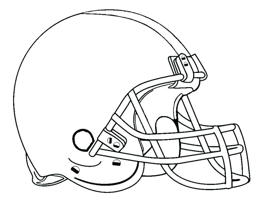 863x665 Coloring Pages Football Football Helmet Coloring Page Redskins