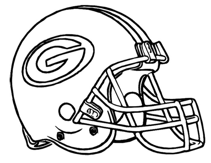 700x541 Football Helmet Green Bay Packers Coloring Page Kids Coloring