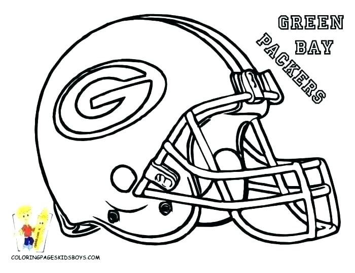 700x540 Football Coloring Pages Printable