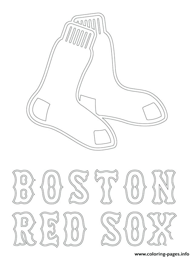 640x853 Coloring Pages Baseball Red Logo Baseball Sport Coloring Pages