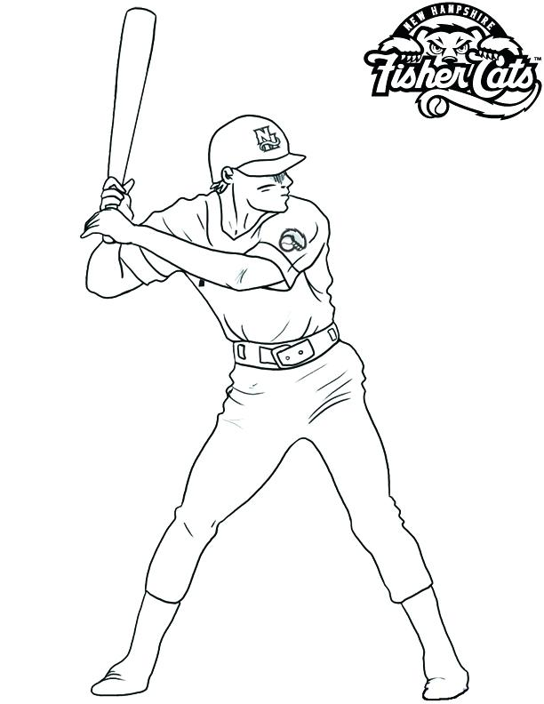 612x792 Coloring Pages Of Baseball Baseball Coloring Page Coloring Pages