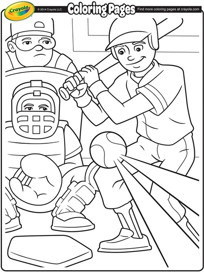 420x560 Celebrate Baseball Season With These Fun Coloring Pages