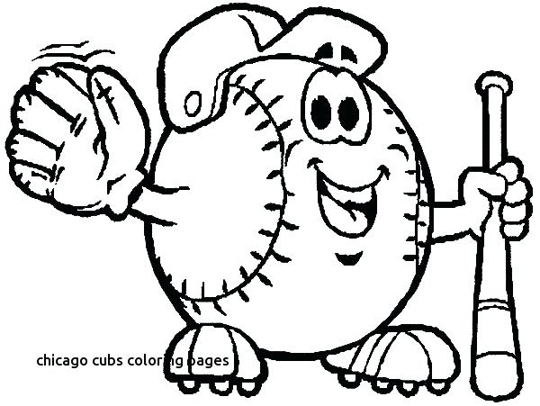 600x451 Mlb Logo Coloring Pages Logo Coloring Pages For Cubs Coloring