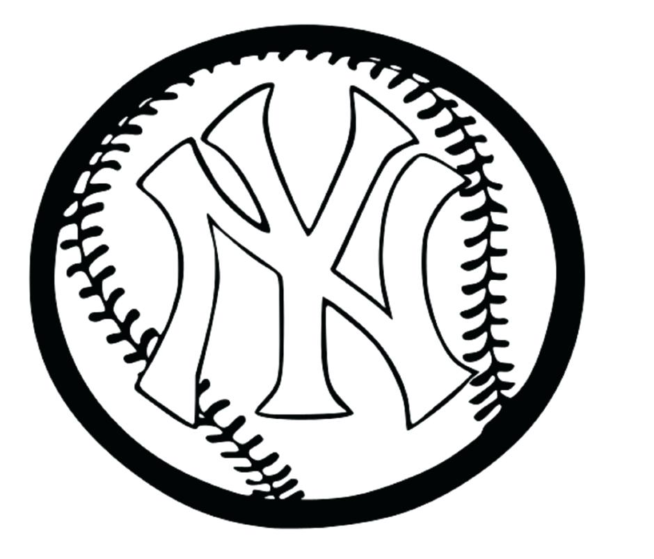 940x803 Mlb Logo Coloring Pages New Coloring Pages Major League Baseball