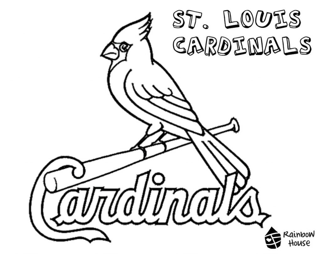 Baseball Logo Coloring Pages at GetDrawings.com | Free for ...