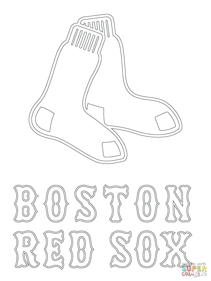 736x981 Baseball Coloring Pages Plus Red Logo Coloring Page From Category