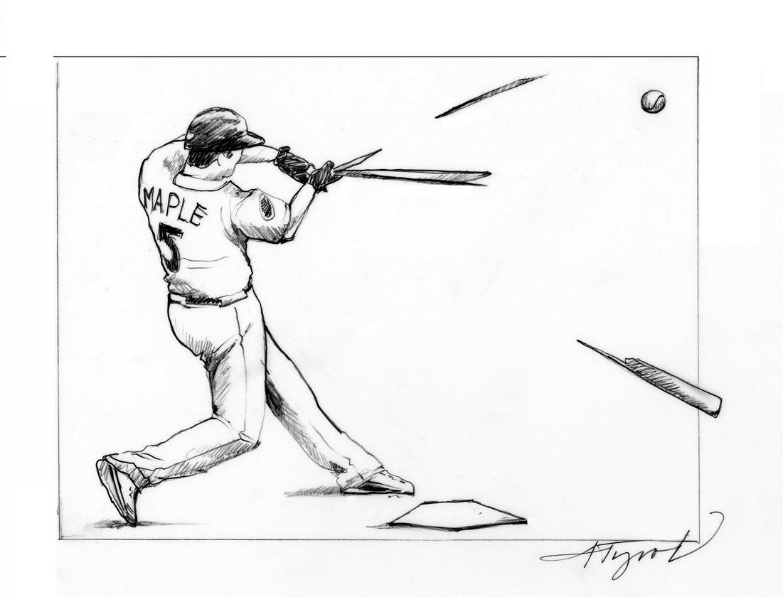 1101x840 Baseball Player Coloring Page Pages