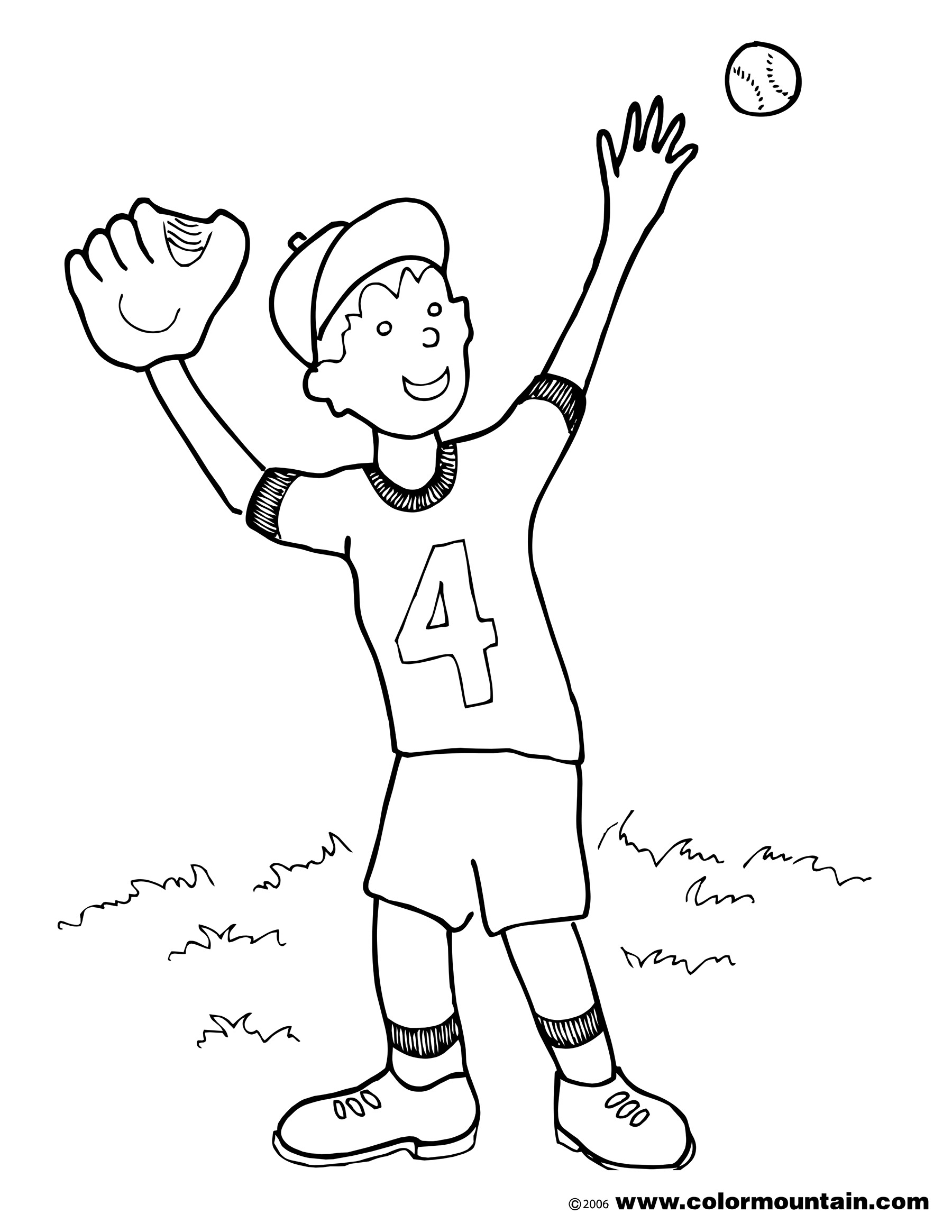 1800x2329 Bodacious Baseball Coloring Pages Printables Pitcher