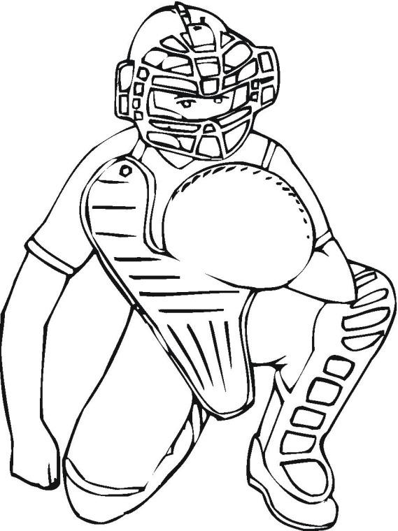 569x760 Baseball, Quarterback Coloring Page Printable Coloring Pages