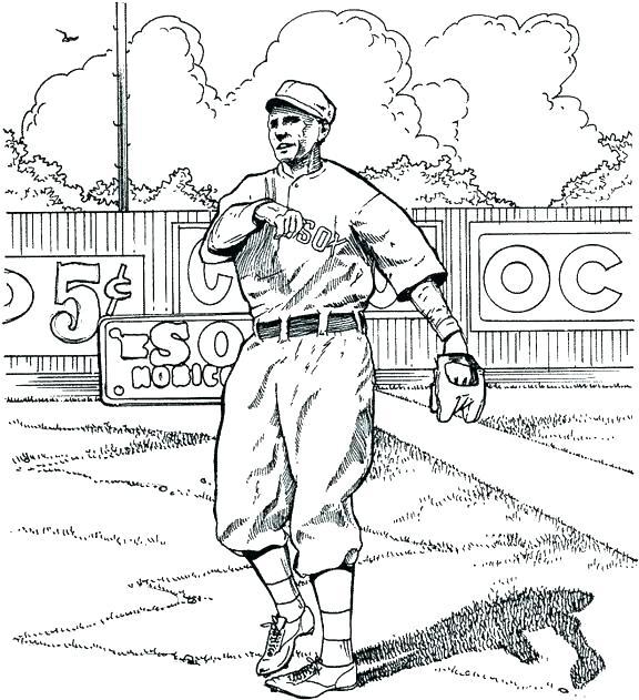 576x631 Baseball Baseball Free Baseball Coloring Pages Baseball Mascot