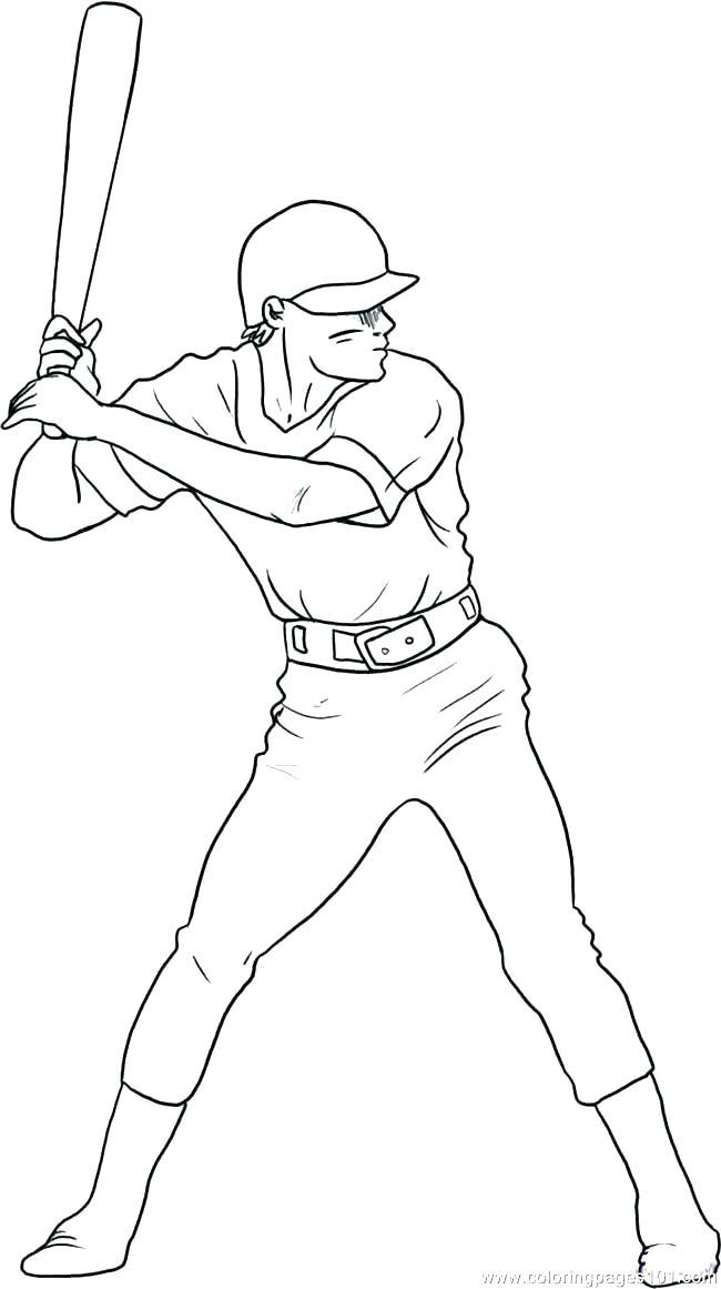 650x1161 Coloring Pages Of Baseball Coloring Pages Baseball Baseball