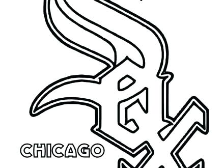 440x330 Coloring Pages Flowers In A Vase Baseball Teams Page Team Logo