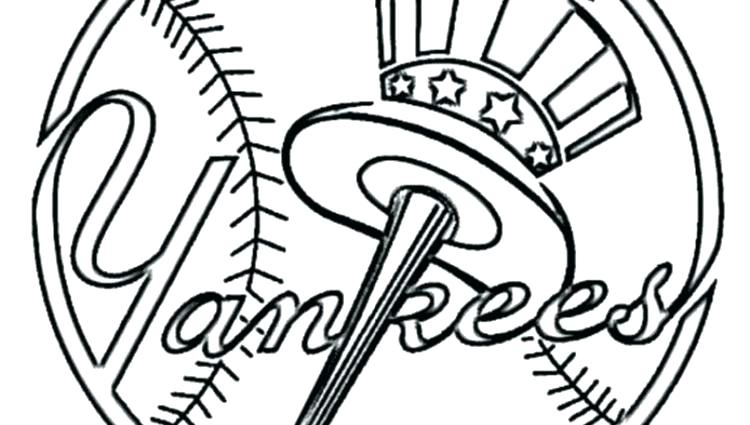 750x425 Mlb Logo Coloring Pages Logo Coloring Pages Red Logo Baseball