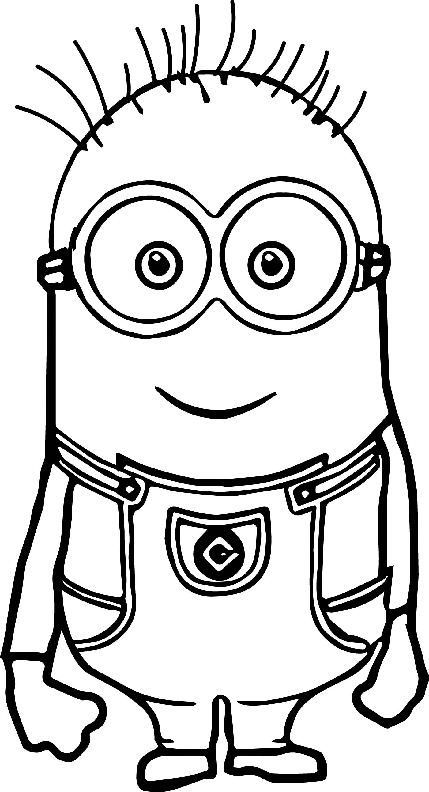 1401x2585 Basic Coloring Pages Mesmerizing Cute Minio Unknown