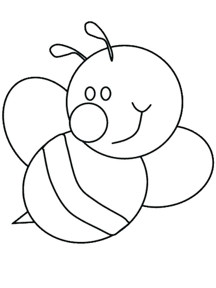 718x957 Simple Coloring Pages For Preschoolers Simple Coloring Pages